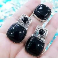 Нежный комплект из серебра