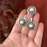 Комплект из серебра маленький