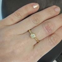 купить кольцо с бриллиантом со скидкой