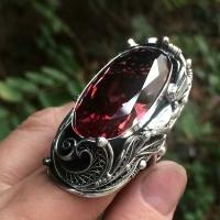 серебряное кольцо +с крупным камнем купить