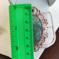 кольцо княгиня +с флюоритом купить