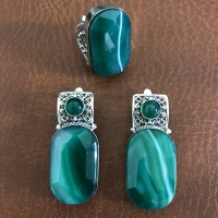 золотой браслет +с синими камнями