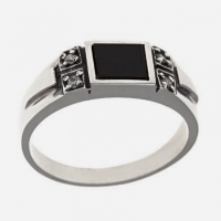 Перстень мужской серебро