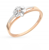 Тонкое золотое кольцо