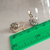 купить комплект малина с бриллиантами на авито