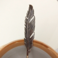 """Ложка из серебра 925 """"Перышко"""""""