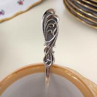Ложка чайная серебряная