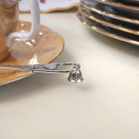серебряная ложка с колокольчиком