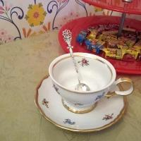 серебряная чайная ложка купить москва недорого