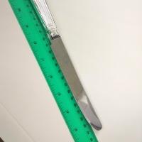 Столовый нож из  серебра 925