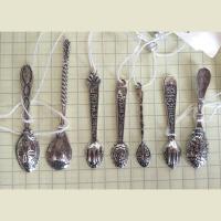 Ложка- загребушка из серебра